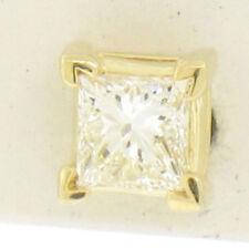 Pendientes de joyería con diamantes mariposas de oro amarillo VS1