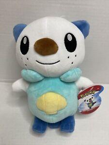 "Pokémon WCT Oshawott Plush Stuffed Animal Toy Wicked Cool Toys 8"" NEW RELEASE"