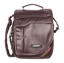 Stylish Side Sling Bag Shoulder Bag Leather Bag 10 Inch For Men's/ Gents