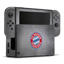 Nintendo Switch Folie Aufkleber Skin FC Bayern München Logo bunt Metalllook