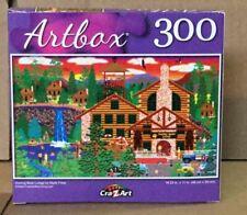 Artbox Dozing Bear Lodge Jigsaw Puzzle  NEW