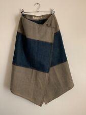 Vintage krizia jeans wrap skirt