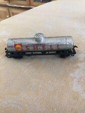 Tyco HO Chrome Shell single dome tank car