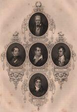 BRITISH HISTORY. Sir Walter Scott; Moore; Lord Byron; Burns; Campbell 1853