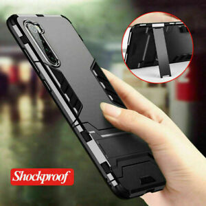 For OnePlus Nord 9R 8 7 Pro 6T 5T Rugged Armour Stand Hard Case Shockproof Cover