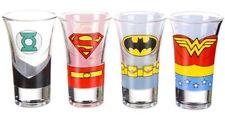 Justice League Shot Glass Set Wonder Woman Batman Superman Green Lantern