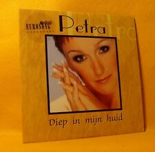 Cardsleeve single CD Petra Diep In Mijn Huid 2TR 1999 Eurosong Belgium Pop RARE