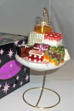 Christopher Radko Candy Goodies Petits Fours Dish Bowl Christmas Ornament +Box