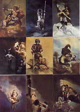 """JEFFREY JONES SERIES 1"" COMPLETE 90 FANTASY ART CARD SET (FPG 1995)"
