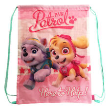 100 Official Paw Patrol Skye Everest Gym Shoe Swim PE Bag Girls
