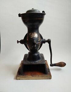 Antique Enterprise Mfg. Co. 1873 Cast Iron Coffee Grinder