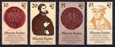 DDR MiNr 2754-2757 ** MNH, 500. Geburtstag von Martin Luther