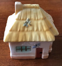 PUNTO CROCE RICAMO redwork KIT DA PANNA D-0852 Honey Cottage