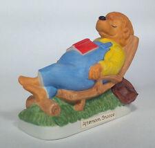 """Vintage 1983 Berenstain Bears Afternoon Snooze 3.5"""" Figurine Ebeling & Reuss"""