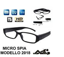 OCCHIALI DA VISTA VIDEOCAMERA OCCULTATA SPIA FULL HD SPY CAMERA CAM DVR 1280x720