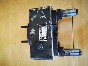 Doppelbohrkopf Säulenbohrmaschine Standbohrmaschine Flott Ixion Alzmetall