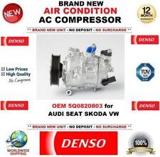 Denso CLIMATISATION ca COMPRESSEUR OEM 5Q0820803 pour Audi Seat Skoda VW NEUF