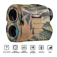 BIJIA Hunting Rangefinder - 650Yards Multi-Function Laser Archery Rangefinder