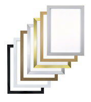 Flat Rainbow Range Picture Frame Photo Poster Frame A5,A4,A3 All Sizes & Colours