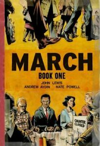 March: Book One by Andrew Aydin and John Lewis (2013, Trade Paperback)