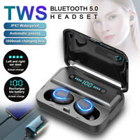 Mini Bluetooth 5.0 TWS Headset Wireless Earphones Earbuds Stereo Headphones 2020