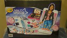 Crayola Fashion Superstar, Coloring Set and App, Toy for Girls, Factory Sealed