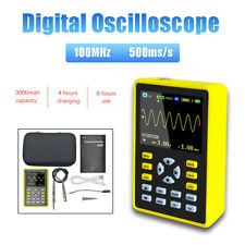 5012h Handheld Digital Oscilloscope Ips Lcd Display Dso 24 100mhz 500mss
