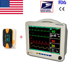 CE 12-inch ICU CCU multi-6-Parameter Patient Monitor  large-screen color TFT US
