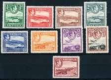 Antigua 1938 KG VI values to 2/6d m.m. (45)