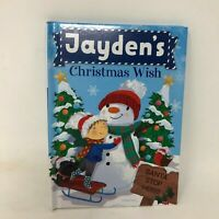 Christmas Wish Book Jayden Child Name Personalized Stocking Gift