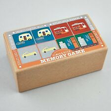 Floss & Rock 18 Pairs Matching Cards Memory Game Transport Educational Boys Gift