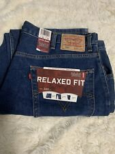 Mens 550 Levi 42x30 Relaxed Fit Sits At Waist Tapered Leg