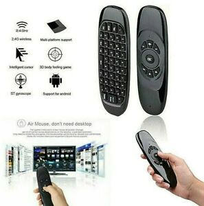 Wireless 2.4G Remote Control Air Mouse Keyboard For Android PC Laptop TV Top Box