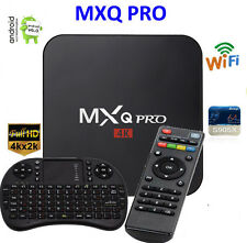 MXQ Pro 4K Amlogic S905X Android 6 Quad-Core WiFi Smart TV Box 8GB + Tastatur