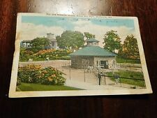 1931 Zoo And Mansion House Druid Hill Park Baltimore Md Postcard