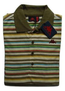 Polo Robe di Kappa uomo manica lunga in cotone Prezzo Promozionale
