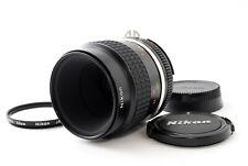 """Top Nuovo di zecca"" Nikon Ai-S AIS Micro Nikkor 55mm f/2.8 Lens Macro MF dal Giappone"