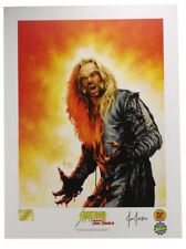 Sabretooth Lithograph Signed by Artist Joe Jusko X-Men Marvel Comics Wolverine