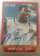 """Marqise LEE• 2014 Topps 1963 Mini Autograph """"007/150""""• Jaguars RC On-Card Auto!"""
