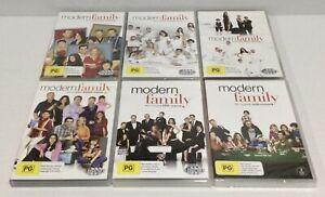 Modern Family Seasons 1-6 DVD seasons 1, 2 and 6 New Sealed