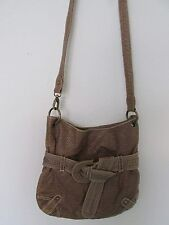 Women's Red by Marc Ecko Brown Cobblestone Faux Leather Purse/Shoulder Bag CUTE