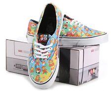 VANS x NINTENDO Authentic Mens sz 6 Shoes NEW Super Mario Bros 8Bit