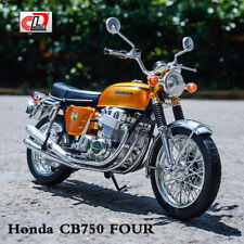 AOSHIMA 1:12 Scale Motorcycle Diecast Model Honda DREAM CB750 FOUR Gold