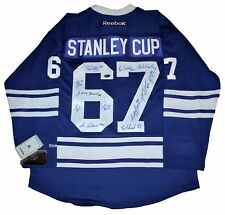 Toronto Maple Leafs 1967 Stanley Cup Team signed autograph reebok jersey