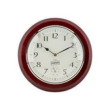 "Staples Wall Clock Wood 12.5"" Dia. (18394) 812288"