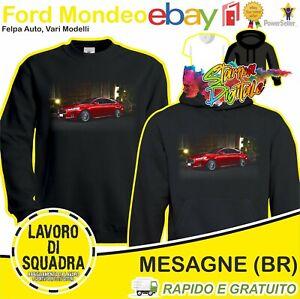 Felpa Ford Mondeo Fiesta Focus Ecosport Kuga Car Motor Motori Automobile Regalo