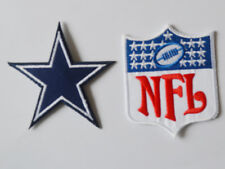 2pcs Dallas Cowboys NFL Logo Patches embroidered iron on patch