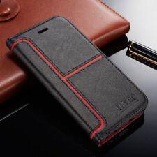 tapa magnética CARTERA CON SOPORTE FUNDA Piel para Sony Xperia XA XA1 XZ Lujo