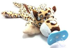 BABY PACIFIER LEOPARD /OPEN ALONG SUCKLING BABY DOLL FOR HUG AGE3-6MONTH UP