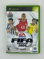 FIFA Soccer 2004 - Original Xbox Game - Complete & Tested
